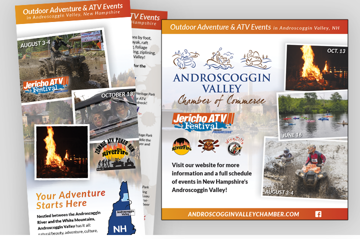 Sullivan Creative does the marketing for the Androscoggin Valley Chamber of Commerce and all of their signature events